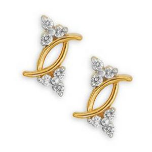 Buy Ag Real Diamond Geet Earring online
