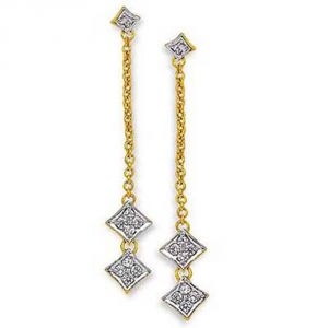 Buy Ag Real Diamond Mamata Earring online