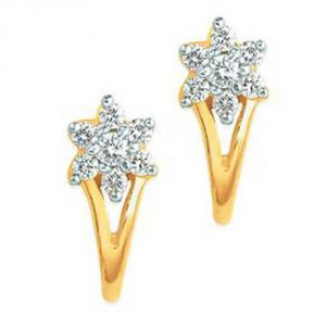 Buy Ag Real Diamond Aarohi Earring online
