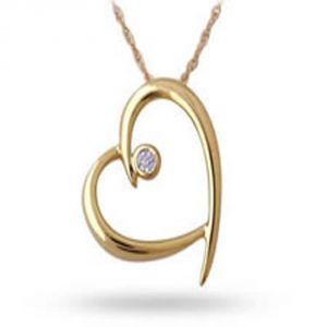 Buy Ag Real Diamond Vashi Pendant online