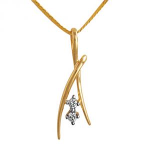 Buy Ag Real Diamond Nagpur Pendant online