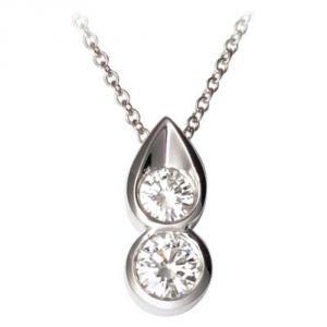 Buy Ag Real Diamond Katrina Pendant online