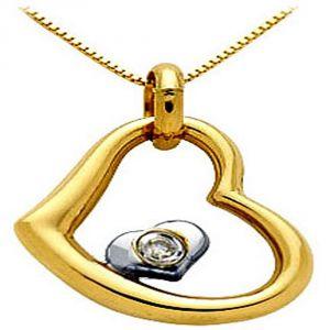 Buy Ag Real Diamond Manisha Pendant online