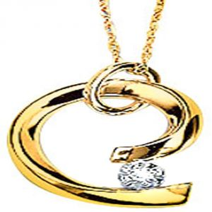 Buy Ag Real Diamond Pallavi Pendant online