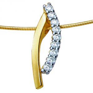 Buy Ag Real Diamond Vinita Pendant online