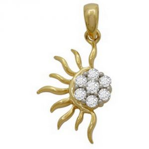 Buy Ag Real Diamond Patana Pendant Agsp0062a online