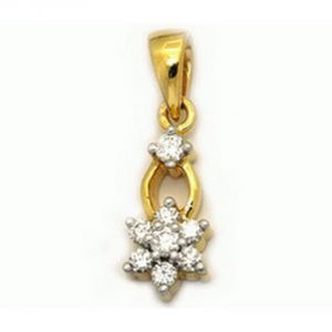 Buy Ag Real Diamond Swara Pendant Agsp0065a online