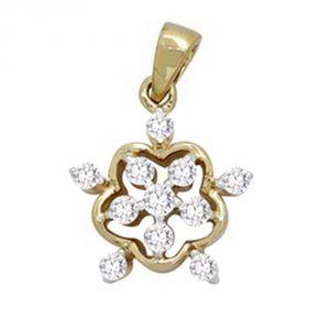 Buy Ag Real Diamond Samiksha Pendant Agsp0068a online