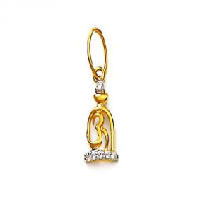Buy Ag Real Diamond Pratiksha Pendant Agsp0069a online
