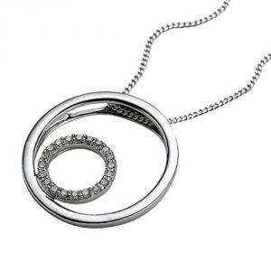 Buy Ag Real Diamond Mayuri Pendant Agsp0077a online