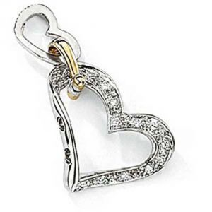 Buy Ag Real Diamond Roshani Pendant Agsp0095a online