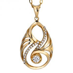 Buy Ag Real Diamond Jyoti Pendant Agsp0110a online