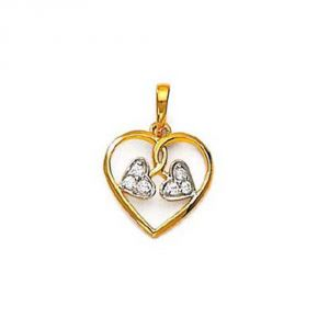 Buy Ag Real Diamond Ketaki Pendant online