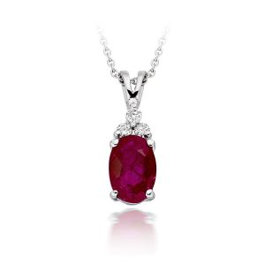 Buy Ag Real Diamond  Ankita Pendant online