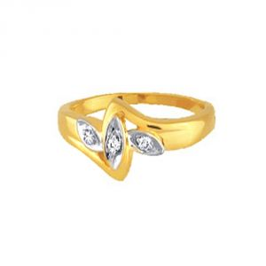 Buy Ag Silver & Real Diamond Minal Ring online