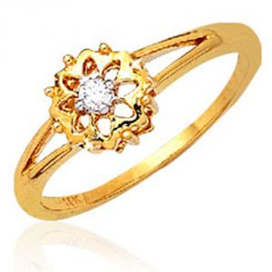 Buy Ag Real Diamond Sikkim Ring Agsr0035a online