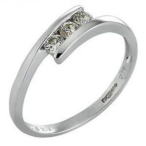 Buy Ag Real Diamond Sadhana Ring Agsr0087a online