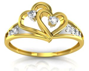 Buy Ag Real Diamond Kishori Ring online