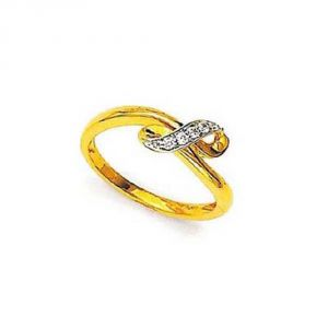 Buy Ag Silver & Real Diamond Ahmedabad Ring online