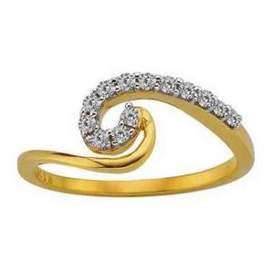 Buy Ag Silver & Real Diamond Jammu Ring online