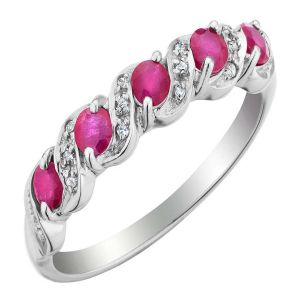 Buy Ag Real Diamond Janavi Ring online