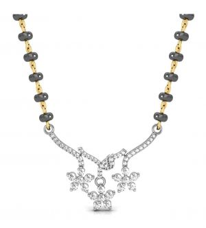 Buy Avsar Real Gold and Swarovski Stone Bhopal MangalsutRa online