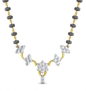 Buy Avsar Real Gold and Diamond Gujarat Mangalsuta online