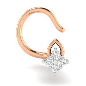 Buy Avsar Real Gold and Diamond Bhavika Nosering online