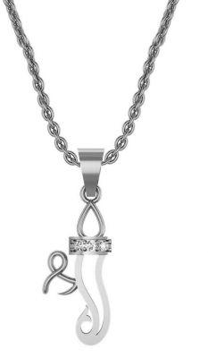 Buy Avsar Real Gold And Swarovski Stone Nilima Pendant Avp004wb online