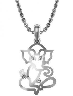 Buy Avsar Real Gold And Swarovski Stone Kashmir Pendant Avp017wb online