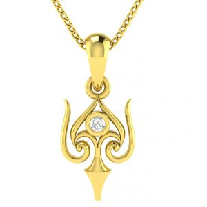 Buy Avsar Real Gold Tejashree Pendant Avp27yp online