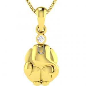 Buy Avsar Real Gold and Diamond  Arpita Pendant online
