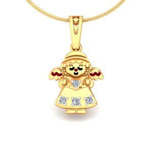 Buy avsar real gold and diamond anjali pendant online best prices buy avsar real gold and diamond anjali pendant online aloadofball Image collections