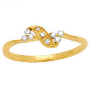 Buy Avsar Real Gold And Diamond Noopur Ring ( Code - Avr018n ) online