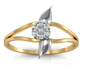 Buy Avsar Real Gold and Diamond Chennai Ring online