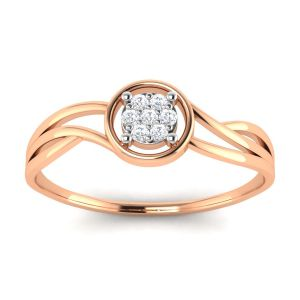 Buy Avsar Real Gold and Diamond Pooja Ring online