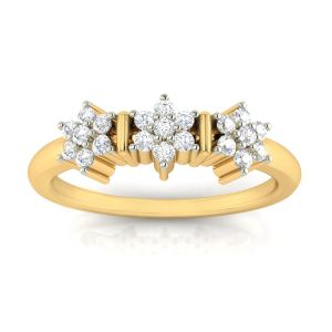 Buy Avsar Real Gold and Diamond Kashish Ring online