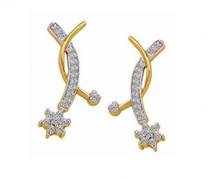 Buy Bling! Diamond Accessories Daily Wear Dangling St online
