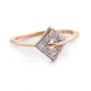 Buy SUPERB TRIANGULER SHAPE DIAMOND RING online