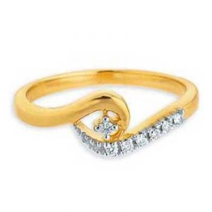 Buy FANCY SNAKE TALE DIAMOND RING online