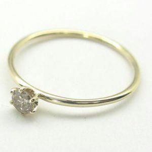 Buy Prong Solitaire 14k Gold Diamond Ring online