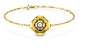 Buy Avsar Real Gold And Cubic Zirconia Stone( Code - Bangle08ybn ) online