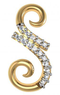 Buy Avsar Real Gold And Diamond Sucharita Earring Bge054a online