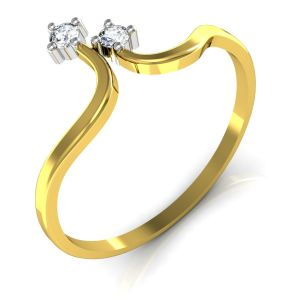 Buy Avsar Real Gold and Swarovski Stone Kerala Ring online