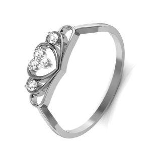 Buy Avsar Real Gold And Swarovski Stone Kolkatta Rings Bgr015wb online