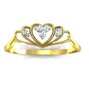 Buy Bling Ring!Real Gold and Diamonds Kolkatta Rings online