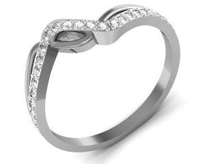 Buy Avsar Real Gold And Swarovski Stone Bhopal Ring Bgr056wb online