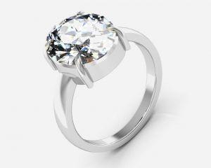 Buy Kiara Jewellery Certified Isphetic 9.3 Cts Or 10.25 Ratti Isphetic Ring online