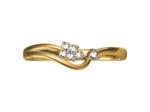 Buy Kiara Sterling Silver Shagun Ring Ecr2232y online