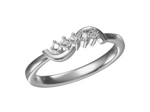 Buy Kiara  Sterling Silver Aanandi  Ring online
